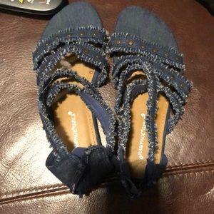 Other - Denim sandals